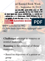 banned book presentation 2013 14