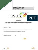 Application as a Business Coach.doc