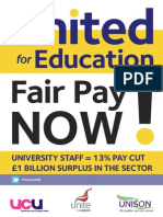 HE Dispute 2013 - United for Education flyer