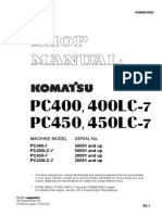 Komatsu Shop Manual PC400 PC450