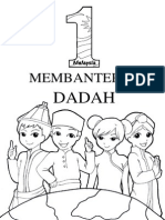 Colouring Pages Membanteras Dadah