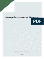 3.-Human Osteological Methods
