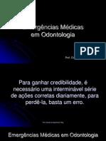 Emergencias Medicas Em Odontologia