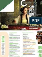 Programme Du Symposium 2013
