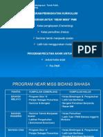 Program Peningkatan Kurikulum (Near Miss & Pecutan Akhir)
