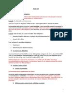 Droit civil 2ème année droit des obligations 1er semestre