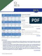 Flash spécial sur les marchés - point hebdomadaire - 2013 10 25 BdP