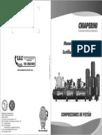 Manual Compressor 10 Mpi - Schiaperini