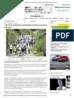 74% de la población colombiana habita en zonas urbanas _ Colombia _ Vanguardia