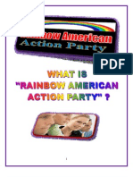 THE AGENDA OF RAINBOW AMERICAN ACTION PARTY-May 16 2009