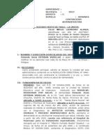Demanda Esteban Varillas-nulidad de Acto Administrativo