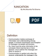 COMMUNICATION-1