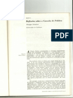 Philippe C. Schmitter - Reflexoes Sobre o Conceito de Politica
