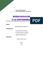 Las Redes Sociales y La Vida Universitaria( Mifflin, Angeles, Gamboa)