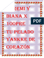 Yeremi y Diana x 100pre y Para 100pre...