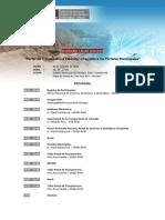 Programa del seminario sobre el Portal de Transparencia en Chiclayo