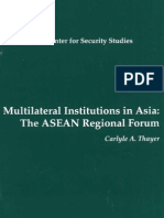 Thayer Multilateral Institutions