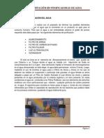 PROCESO DE PURIFICACIÓN DEL AGUA