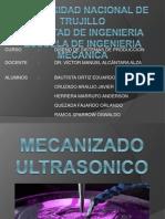 Mecanizado Ultrasonico