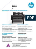HP Designjet T1500 ePrinter