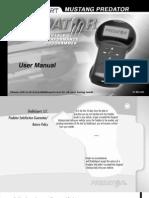 DiabloSport Predator User Manual U7146-1998-2004 Ford Vehicles