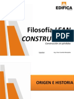 Filosofia Lean Construction
