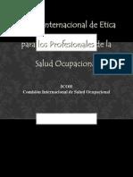 Etica y Salud Ocupacional