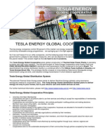 TESLA ENERGY GLOBAL COOPERATIVE