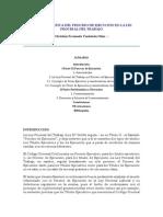 LA PROBLEMÁTICA DEL PROCESO DE EJECUCIÓN EN LA LEY PROCESAL DEL TRABAJO