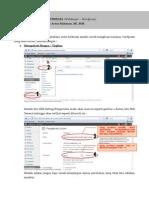 Materi Minggu Ke 5 Tutorial Wordpress