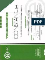 Constancia Curso Reglamento Lavado Dinero2013