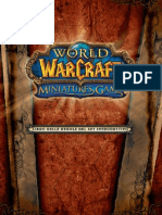 Rulebook Wow Minis Italiano