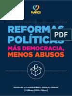 Programa Presidencial - Marco Enríquez-Ominami 2014-2018
