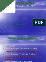 Architecture Grecque