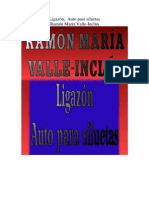 Valle Inclan, Ramon Maria - Ligazon