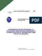Curso-Info-Pedagogia-UASD_FUNDAMENTOS DE INFO-PEDAGOGIA LA VIRTUALIDAD COMO RECURSO PEDAGÓGICO