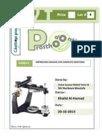 prostho IV - lec 4 - impression making for complete dentures.pdf