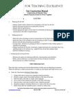 Test Construction Manual