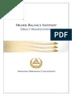 Directmanifestation Booklet