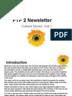 pyp 2 newsletter- cultural stories