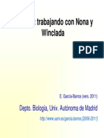 Ejercicio Winclada y Nona