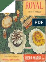 Royal 1961 Librito de fórmulas1