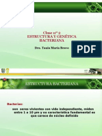 Clase n 2 Estructura Bacteriana