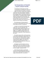 Archivo 4 the Interpretation of Standard Deposit Analysis Results