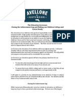 Joe Avellone Education Policy Proposal