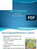 the colonies powerpoint