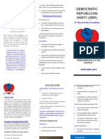 DRP PLAN BROCHURE