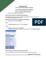 Como Buscar Archivos en Windows XP