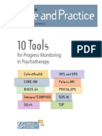 2012 11 Integrating SandP 10 Tools for Progress Monitoring in Psychotherapy