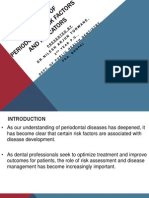 ASSESSMENT OF periodontal risk factors and indicators.pptx